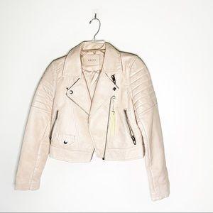 NWT Blank NYC Leather Moto Jacket S